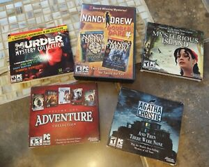 Awesome Adventure Game Lot for PC!! 13 GAMES!!