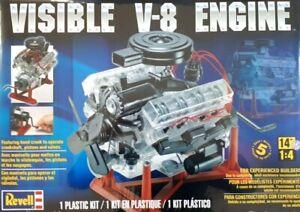 MONOGRAM 8883-1//4 SILNIK VISIBLE V8 ENGINE