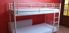 Letto a castello IKEA modello SVARTA - Metallo bianco - OTTIME CONDIZIONI