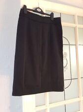 Sonia K Paris señoras falda talla 10 Negro