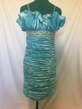 BNWT Chi Chi special occasions blue dress size 10