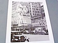 "Billboard on Broadway""The Day the Earth Stood Still"" NewYork Times Photo Archive"