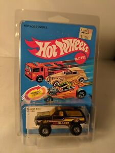 Chevrolet Blazer 4x4 -  1984 Hot Wheels Mainline - carded, unpunched chevy