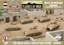 Flames of War - Arab-Israeli: M4/FL110 Sherman Platoon  AARBX05