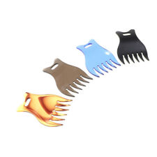 Professional Plastic Wide Tooth Oily Hair Comb Styling Hair Lift Pick Combs