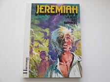 JEREMIAH EO1979 TBE LA NUIT DES RAPACES HERMANN EDITION ORIGINALE