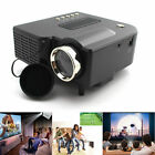 2017 LCD/LED Video Projector Home Audio Theater 1080P HDMI HD PS4 Movie Night CA