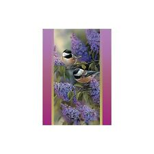 Chickadee Chat All Occasions Greeting Card & Envelope by Tree Free