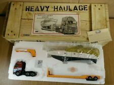 Corgi  CC12413 Volvo FH 2 axle Low Loader & Boat Load Ltd Ed No 0005 of 2600