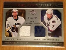2005/6 UD Rookie Update Inspirations Dual Jersey Max Talbot / Brendan Morrison