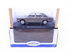 92428   Modelcar MCG18121 BMW 520i (E12) 1974 grau Modellauto 1:18 NEU in OVP