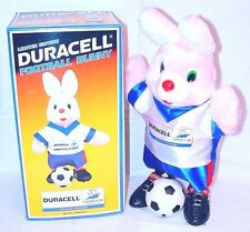 "ISL Duracell 12"" Tall FRANCE 98 FOOTBALL WORLD CUP BUNNY TV Figure Boxed Job Lot"