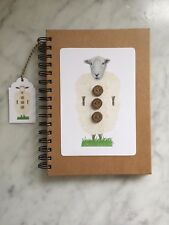 """Onslow and friends Handmade Note Books """" Onslow """" - ideal Xmas present!"""