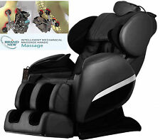 Brand New Massage Chair 830 Zero-G intelligent roll Heating Foot Roller Black