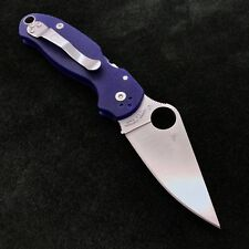 Spyderco Para 3 C223GPDBL Blue G10 Scales -  2.95' S110V Blade Paramilitary NEW
