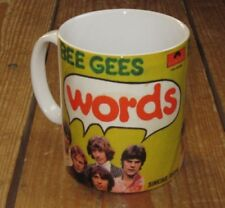 The Bee Gees Words Advertising MUG