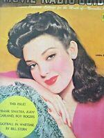 Vintage Collectible Movie Magazine Movie Radio Guide November 1943