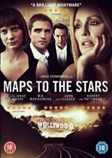 Maps to The Stars 5030305518486 With John Cusack DVD Region 2