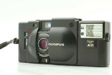 【Excellent 5】 Olympus XA + A11 Flash 35mm Rangefinder Camera From JAPAN #9071001