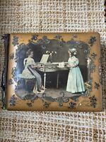 Very Rare Antique Victorian Picture Album