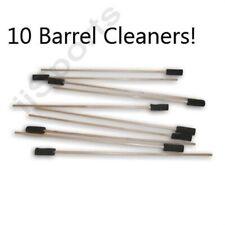 "10 20"" long Foam Stick Swab Paintball Barrel Cleaners Squeegee Squeegy Bulk Lot"