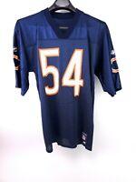 BRIAN URLACHER #54 Official NFL Jersey - CHICAGO BEARS - Men's M - By Reebok