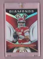 Patrick Mahomes PANINI CERTIFIED REFRACTOR HOLOFOIL DIAMONDS INSERT CHIEFS Mint!