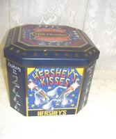 Hershey's Kisses New Years 2000 Tin Box Celebrating the Millennium