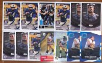 (13) 2017 JAMES CONNER RC ROOKIE FOOTBALL CARD LOT