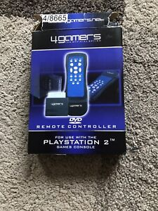 4Gamers PS2 DVD Remote Controller for Playstation 2 BRAND NEW .. NO BATTERIES