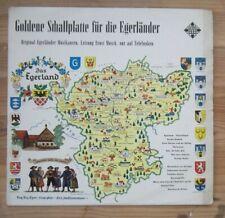 GOLDENE SCHALLPLATTE FUR DIE EGERLANDER, ERNST MOSCH, LP
