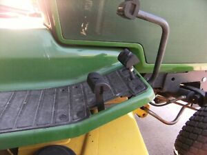 John Deere 425-445-455 Revised Reverse Z-Pedal...Non-Adjustable with rubber pad