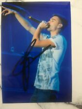Tom Parker  Signed Printed Photo 6x4