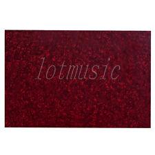 Red Pearl 3ply Guitar Body Blank Scratch Plate Pickguard Sheet 43X29cm