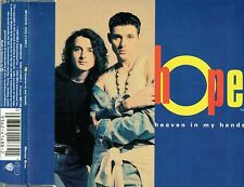 """HOPE - 5"""" CD - Heaven In My Hands (+ Extended mix) (3 Track) Harding, Curnow"""