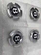 """4 NUOVO ORIGINALE Bentley Continental GT GTC centro CAP BADGE 21/"""" DISCO dell/'elica"""