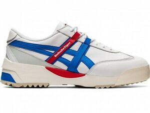 asics Onitsuka Tiger DELEGATION EX 1183A559 white x electric blue With shoe bag