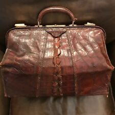 Alligator & Brass Doctors Bag Large Antique