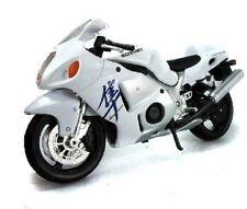 MAISTO 1:12 SUZUKI GSX-1300R WHITE MOTORCYCLE BIKE DIECAST MODEL TOY NEW IN BOX