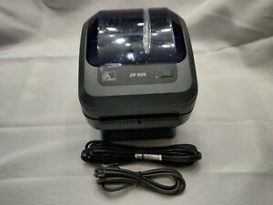 Zebra ZP505 USB Label Thermal Printer - W/ Power Cord And USB Cable