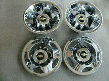 "Chevy Silverado 3500 17"" dually factory chrome wheel covers simulators"