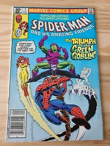 Spider-Man and His Amazing Friends #1 1st Appearance Firestar Newsstand Edition