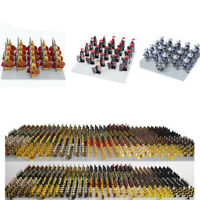 21pcs CUSTOM Knight Military Army Soldier Figure for Lego Minifigures 30 Styles