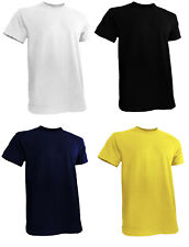 Mens Big and Tall Shirts (Short Sleeve Round Neck) -S to 6XL