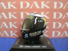 Die cast 1/5 Modellino Casco Helmet Moto GP Casco Jorge Lorenzo 2012