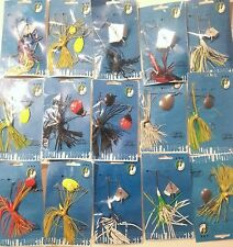27 ASSORTED SPINNER BAITS 1/8, 1/4 & 3/8oz LURES