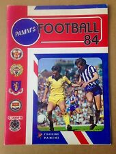 PANINI FOOTBALL 1984 Sticker Album. Empty