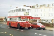 PHOTO  1994 BLACKPOOL EX ROUTEMASRER BUS HOW TO FIND PONTIN'S? JUST FOLLOW THE B