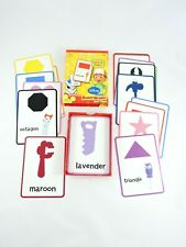 HANDY MANNY Flash Cards Set of 24 Disney Store COMPLETE educational shapes color
