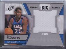Danny Manning 2014-15 Upper Deck SPX *Winning Big Materials Jersey* NBA